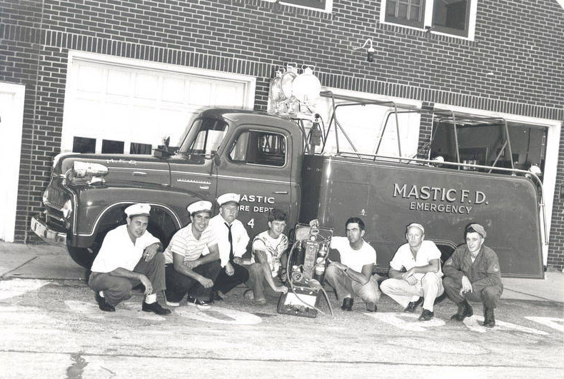 Mastic Fire Department Emergency Vehicle circa 1950s